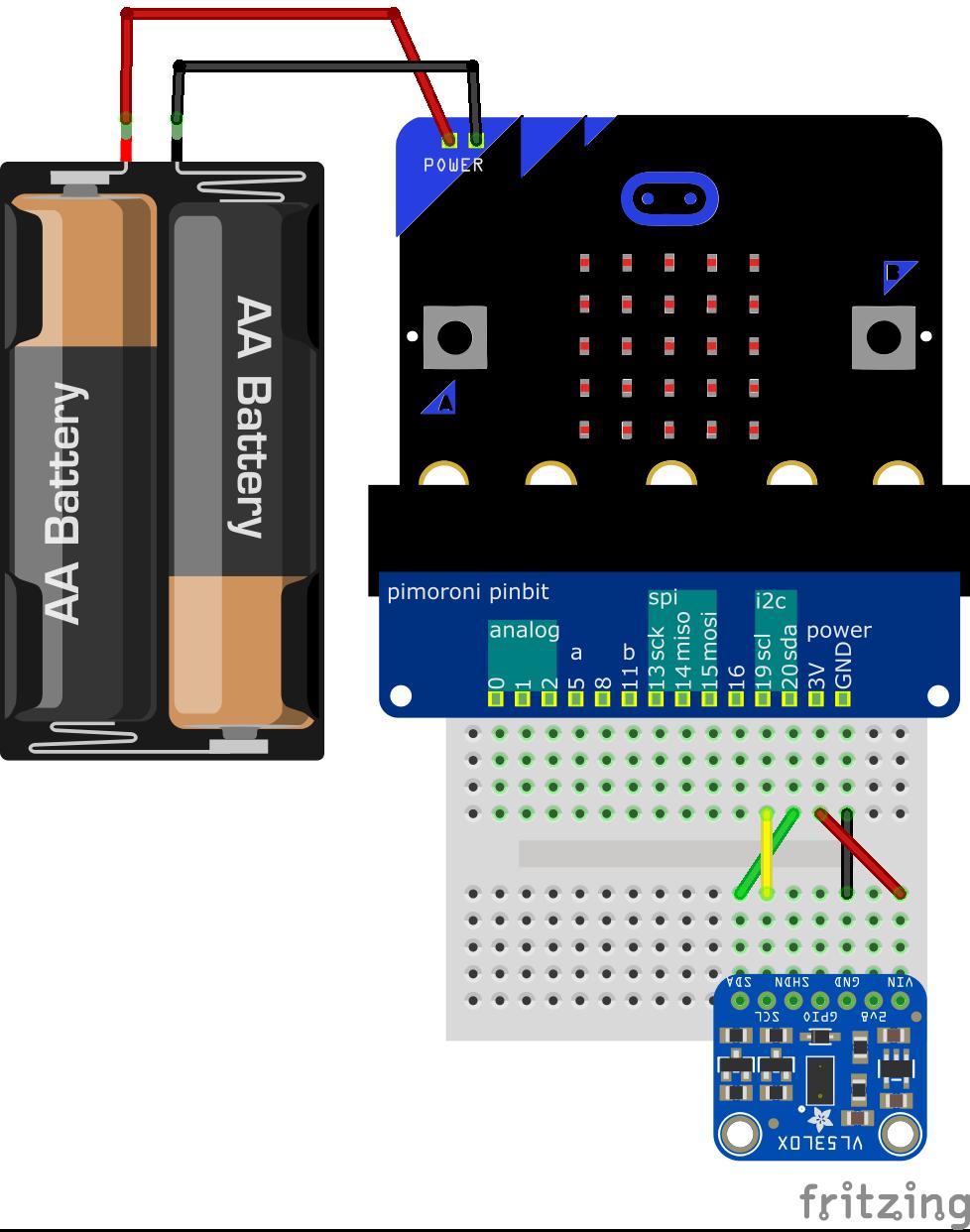 VL53L0X回路図
